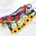 Boho Daisy Elastic Hairbands for Women