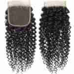 9A Grade Brazilian Human Hair Extension  Kinky Curly Bundles with