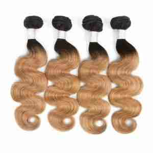 Wholesale Body Wave 1B/27 BUNDLES with CLOSURES & FRONTALS