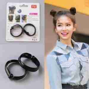 2PCS New Magic Hair Quick Maker Hair Band Bud
