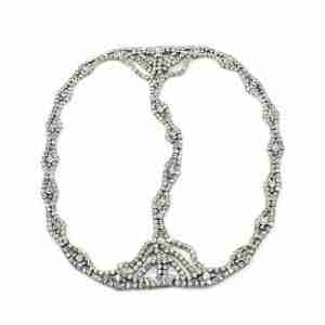 Cleo Rhinestone Headpiece