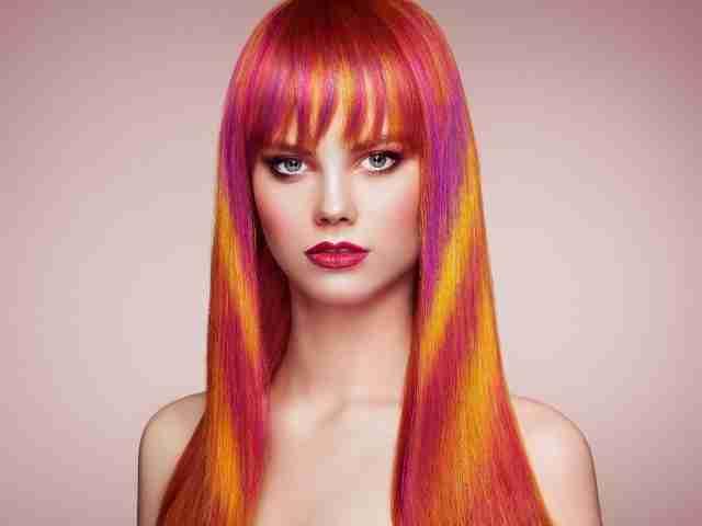hair extensions colour
