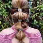 Primrose – Attractive, Embroidered Elastic Hair Tie