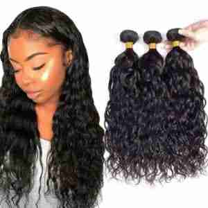 WHOLESALE 10A Grade 3/4 Water Wave Brazilian Human Hair