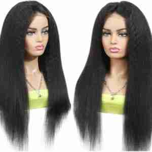 Brazilian Virgin 13×4 Kinky Straight Lace Front Human Hair| Wholesale Price